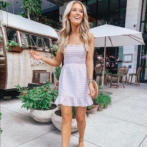 Smocked Mini Dress
